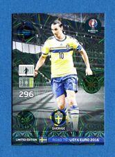 ROAD TO EURO 2016 -Adrenalyn Panini- Card LIMITED EDITION -IBRAHIMOVIC - SVERIGE