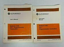 Allen-Bradley User's Manual Bulletin 1745 Slc 100 Plc + Self-Teach Manual