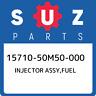 15710-50M50-000 Suzuki Injector assy,fuel 1571050M50000, New Genuine OEM Part