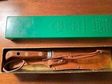 PUMA White Hunter  Sheath Knife   1970 Nice L@@K
