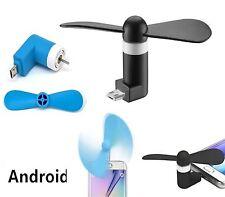 MINI VENTILATORE PORTATILE MICRO-USB SMARTPHONE SAMSUNG ANDROID MARE SPIAGGIA