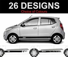 hyundai i10 side stripe decals stickers graphics trd 2 off