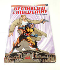 Deathblow And Wolverine Graphic Novel French Version Large Hardback Comic Book