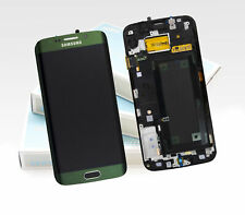 Original SAMSUNG Galaxy S6 EDGE Emerald Grün SM-G925F LCD Display Bildschirm NEU