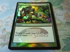 MTG Magic the Gathering Promo DCI FOIL Giant Growth Super Series