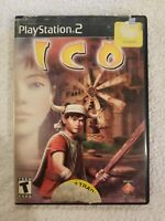 ICO PLAYSTATION 2 PS2 GAME COMPLETE IN CASE W MANUAL BLUE DISC FREE S/H