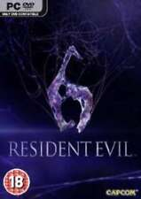 Resident Evil 6 - PC DVD - Horror - brand new and factory sealed