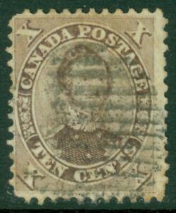 EDW1949SELL : CANADA 1859 Scott #17a Violet. Fine, Used. Catalog $160.00.