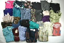 Wholesale Lot of 28 Women's Size Small Tops Spring Summer Blouses & Dresses