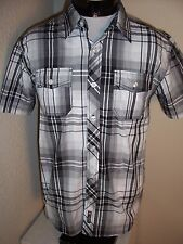 SOUTH POLE medium M Button-up shirt Combine ship w/Ebay cart
