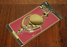 NEW OLD STOCK LARGE IVES SOLID BRASS TRADITIONAL DOOR KNOCKER