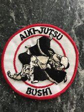 "Rare Vtg 1960s 70s Karate Aikijutsu Bushi Patch 4"" Orig Art Martial Arts MMA"