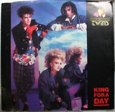 Rock Picture Sleeve Promo 45 Thompson Twins - King For A Day / On