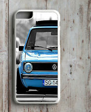 VW MK1 GOLF GTI PHONE CASE FITS APPLE IPHONE 4 4S 5 5S 5C  6 6S SE 7 & PLUS dub