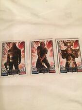TOPPS HERO ATTAX MARVEL THOR The Mighty Avenger Cards