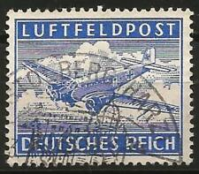Germany Third Reich 1942 Used - Air Mail Letter Military Field Post Feldpost
