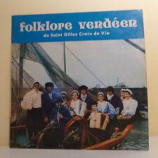 33T FOLKLORE VENDEEN Disque LP BISE-DUR SAINT GILLES CROIX DE VIE -ROUET 730602