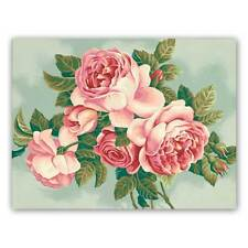 MALEN NACH ZAHLEN  ~~Heirloom Roses~~ 91299 Dimensions 36 x 28 cm NEU/OVP