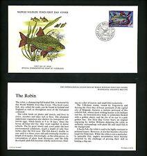 Postal History Yugoslavia Fdc #1296 Fresh water plant fish fauna 1976