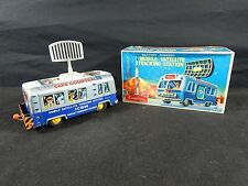 50'S TIN CRAGSTAN MOBILE SATELLITE  W/ BOX JAPAN BATTERY OPERATED WORKING