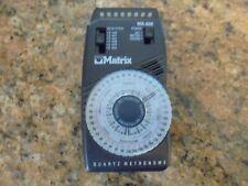 Matrix Quartz Metronome Model Mr 600