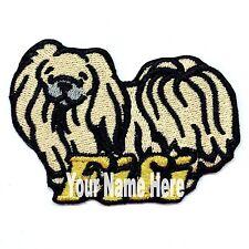Pekingese Dog Custom Iron-on Patch With Name Personalized Free
