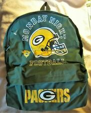 Green Bay Packers ABC Monday Night Football Backpack  Dsg by JAK of Australia