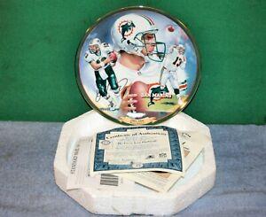 Dan Marino Miami Dolphins Pittsburgh Passer Decorative Plate - Bradford Exchange