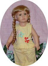 "Doll Wig 10/11 fits Katie, Kidz N Katz, Synthetic Fiber, "" Candie """