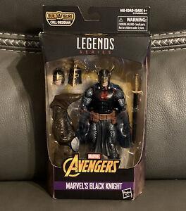 Hasbro Marvel Legends Black Knight Complete w/ Cull Obsidian BAF Leg!
