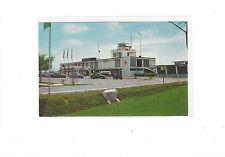 terminal building at Kuala Lumpur Malaya airport   postcard