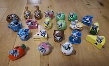 More details for 21 vintage kitsch mouse (mice) in ornaments - cheese, teapot, hat, fruit, veg