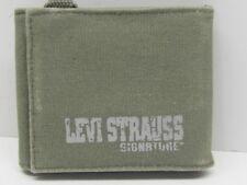 LEVI STRUSS SIGNATURE Denim Tri-Fold Wallet