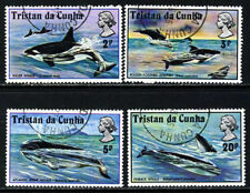 Elizabeth II (1952-Now) Whales Tristanian Stamps
