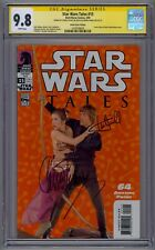 STAR WARS TALES #15 SS CGC 9.8 2X SIGNED CARRIE FISHER AND MARK HAMILL