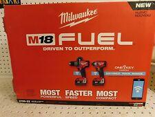 Milwaukee 2796-22 M18 FUEL w/ONE-KEY 18V Hammer-Impact Combo Kit**100%FEEDBACK*