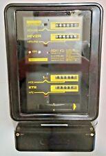 Ancien compteur électrique triphasé schlumberger A6A1 4TJ de 1979 très rare