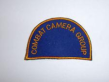 c0160 WW2- Korea US Navy Combat Camera Group Patch R10C
