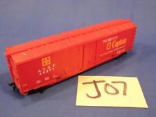 J07 VINTAGE HO SCALE TRAIN BOXCAR CAR ATSF 49277 SANTA FE ROUTE OF EL CAPITAN