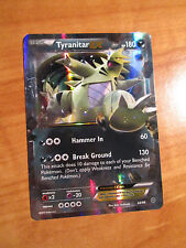 NM Pokemon TYRANITAR EX Card ANCIENT ORIGINS Set 42/98 XY X and Y Ultra Rare TCG
