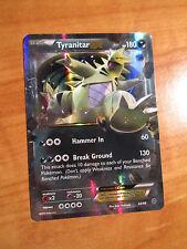 NM Pokemon TYRANITAR EX Card ANCIENT ORIGINS Set 42/98 XY X and Y Ultra Rare TCG