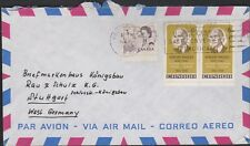 Canada- 15c combo, Vancouver to West Germany 1960s
