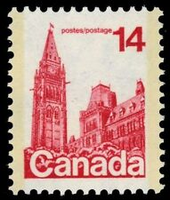 """CANADA 715 - Houses of Parliament """"Dull Paper"""" (pa34456)"""