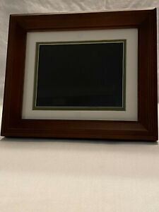 """HP 7"""" Diagonal Digital Picture Frame Store Up To 800 Picture Model No DF730"""