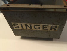 Pre Owned 331 Vintage Singer Gray Heavy Duty Sewing Machine Drawer