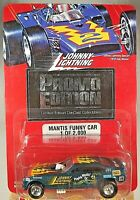 1996 Johnny Lightning White Lightning  Promo Edition Mantis Funny Car 1 of 2000