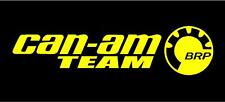 CAN-AM Team Decal Sticker Maverick Outlander Renegade X3 SxS SSV ATV