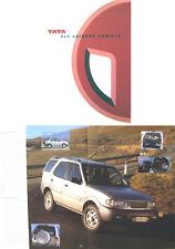 TATA 4x4 Leisure veicolo ORIGINALE mercato del Regno Unito non opuscolo data circa anni'90