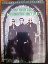 Keanu Reeves MATRIX RELOADED ~ Wachowski hermanos Sci-Fi Acción ~ R1 EEUU DVD