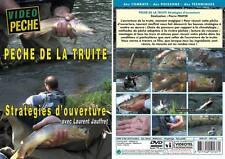 Pêche de la truite : Strategies d'ouverture avec Laurent Jauffret - Pêche truite